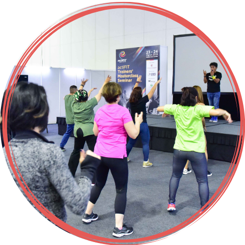 Equip new skills with professional certification courses at actiFIT Asia 2020