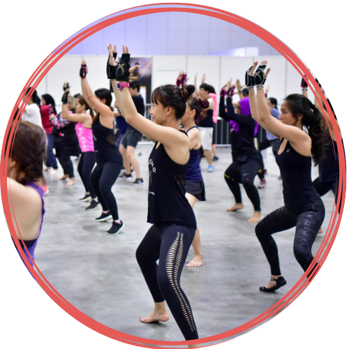 group exercise masterclasses at actiFIT Asia 2020