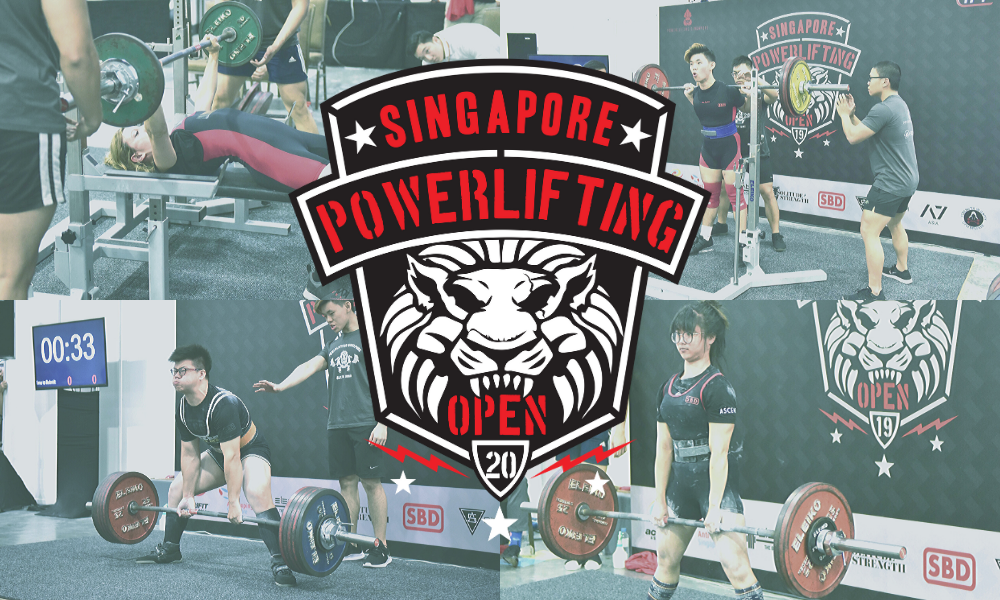 Singapore Powerlifting Open at actiFIT Asia 2020