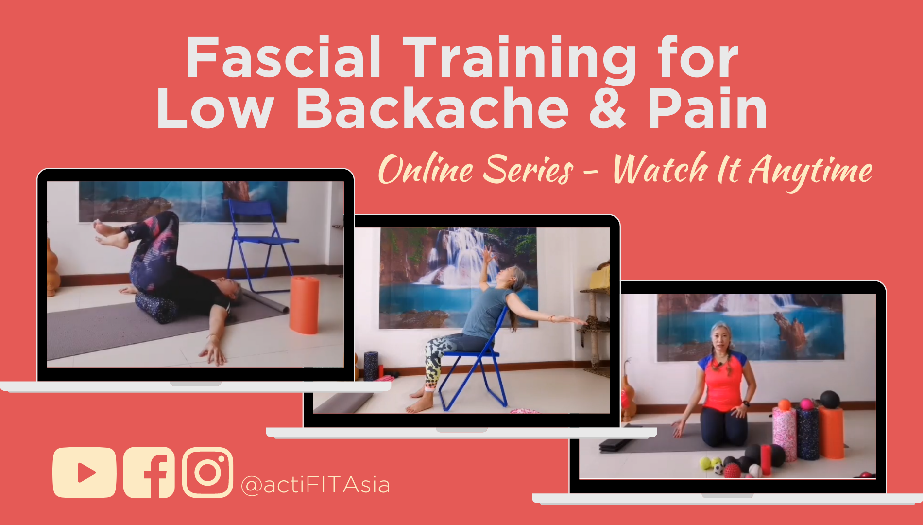 Fascial Training for Low Backache and Pain